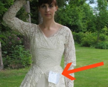 Woman Finds A 60 Year Old Wedding Dress When She Reads The Hidden